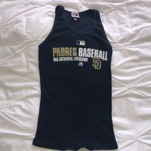 Padres baseball tank